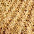 Coir Carpet (Sample: Herringbone Natural)